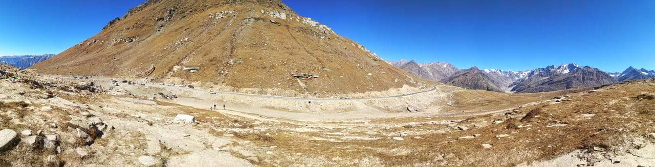 Rohtang Pass Top View